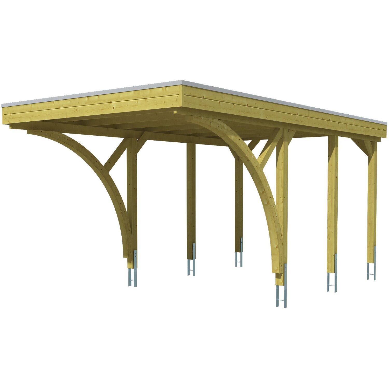 Skan Holz Carport Friesland Set 6 314 Cm X 555 Cm Kaufen Bei Obi