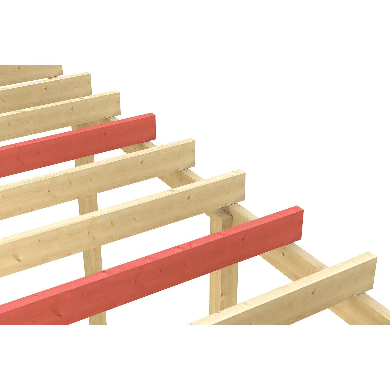 Skan Holz Schneelasterhöhung auf 2,50 kN/m² für Carport Nussbaum   Baumarkt > Garagen und Carports > Carports   Skan Holz