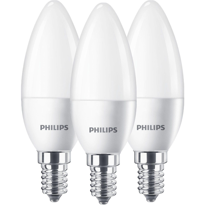 philips led leuchtmittel kerzenform e14 5 5 w 470 lm. Black Bedroom Furniture Sets. Home Design Ideas