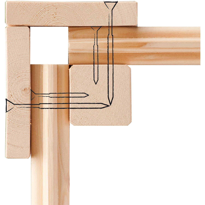 Woodfeeling Holz Gartenhaus Tessin Grau 300 Cm X 300 Cm Inkl Massivholzboden Kaufen Bei Obi