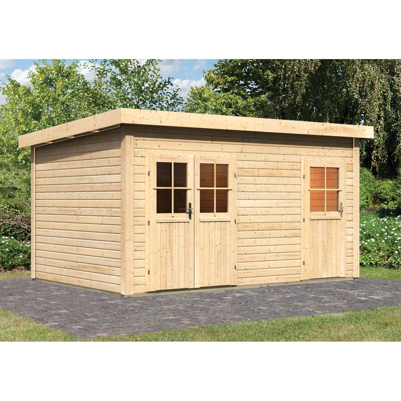 Karibu Sauna Nukka Ohne Ofen Mit Gartenhaus Kaufen Bei Obi