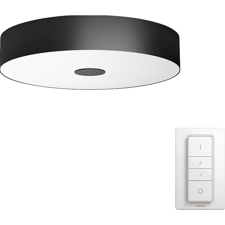 Philips Hue LED-Deckenleuchte Fair Schwarz EEK: A++