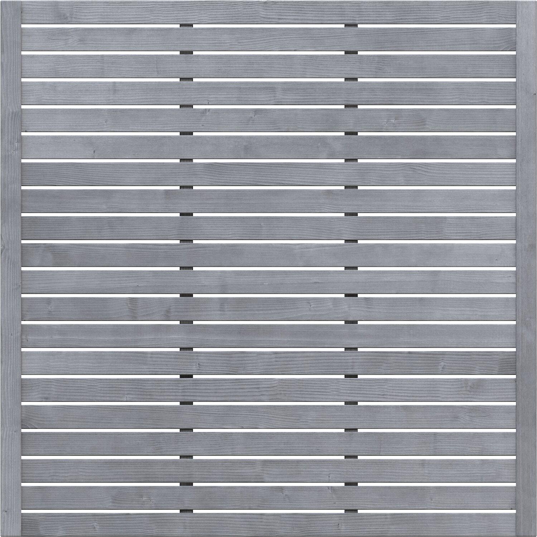 Sichtschutzzaun Element Neo Design Offen Grau 179 Cm X 179 Cm