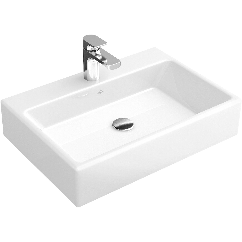 villeroy boch aufsatzwaschbecken memento 50 cm star white mit hl ohne l cplus kaufen bei obi