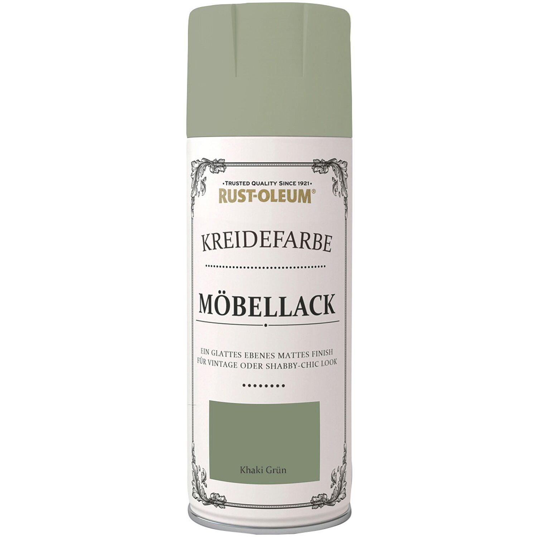 Rust-Oleum Kreidefarbe-Möbellack Khakigrün matt 400 ml