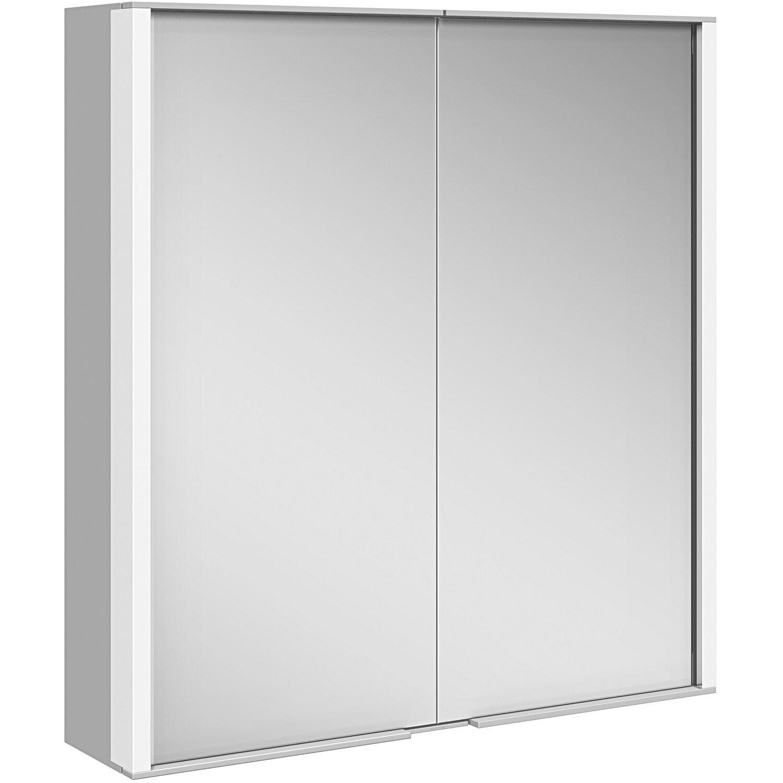 Keuco Spiegelschrank 65 cm Royal Match Silber-Eloxiert EEK: A-A++