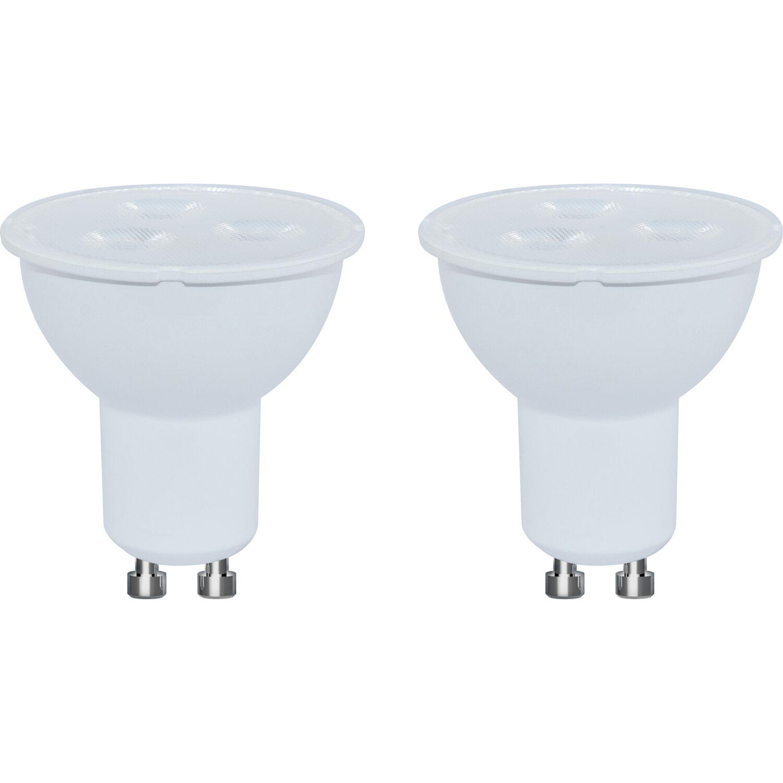 obi led leuchtmittel reflektorform gu10 3 7 w 230 lm warmwei 2er pack eek a kaufen bei obi. Black Bedroom Furniture Sets. Home Design Ideas