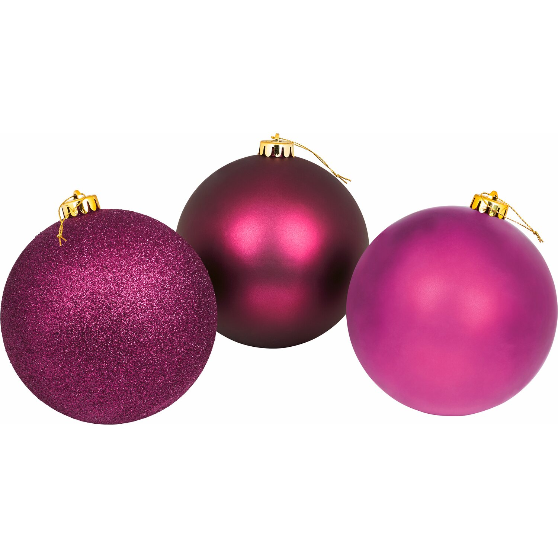 Xxl baumkugel 20 cm lila kaufen bei obi - Obi weihnachtskugeln ...