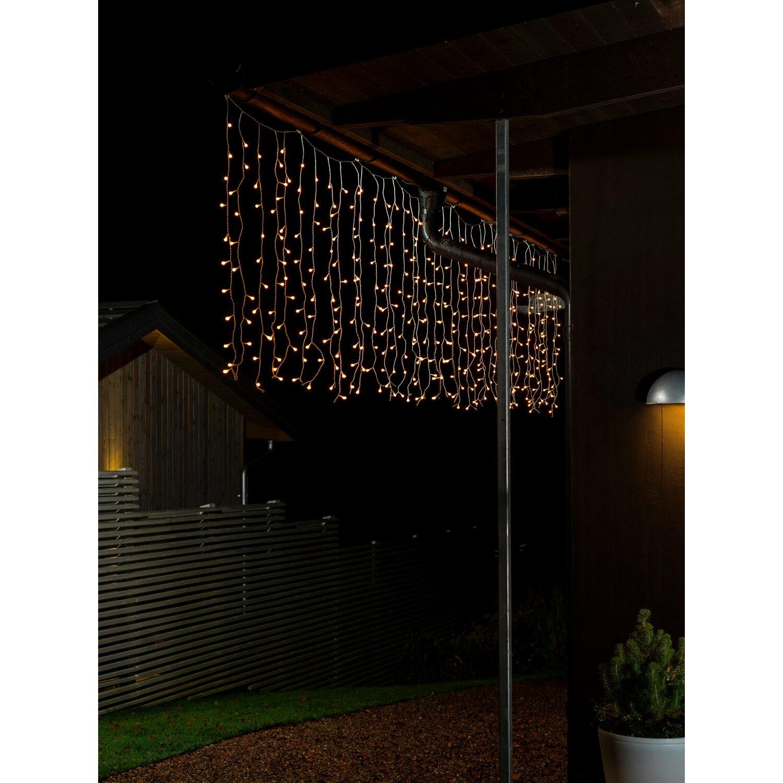 konstsmide led globe lichtervorhang 200 dioden warmwei kaufen bei obi. Black Bedroom Furniture Sets. Home Design Ideas