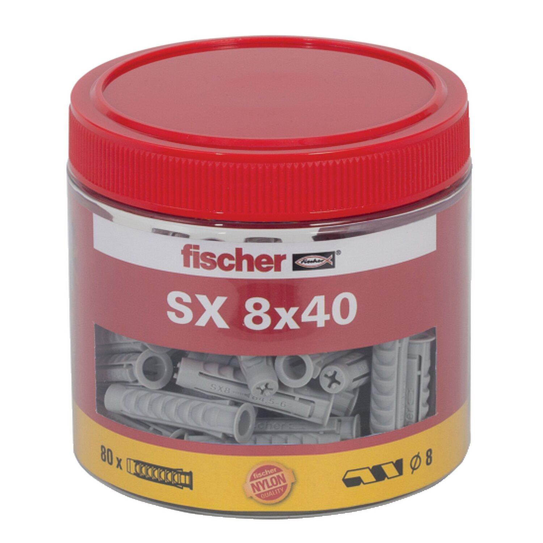 Fischer  Dübel SX 8 x 40 Dose (80 ST)
