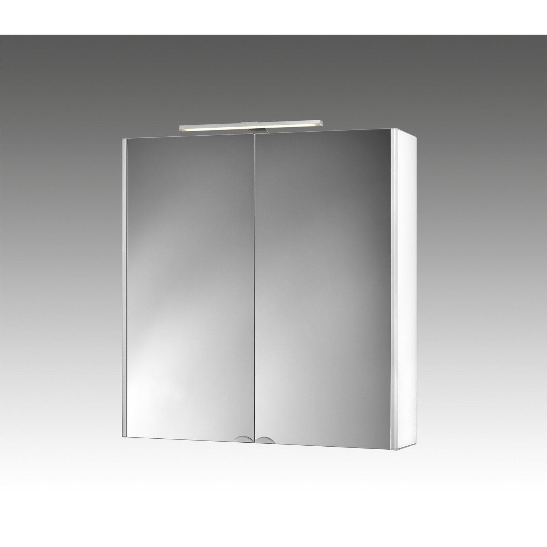 Jokey Spiegelschrank 65,5 cm EEK: A Dekor Alu-Weiß kaufen bei OBI | {Spiegelschrank holz weiß 72}