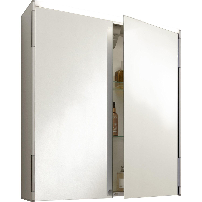 Jokey Spiegelschrank, Alu Eco 64,5 cm Aluminium EEK: A kaufen bei OBI