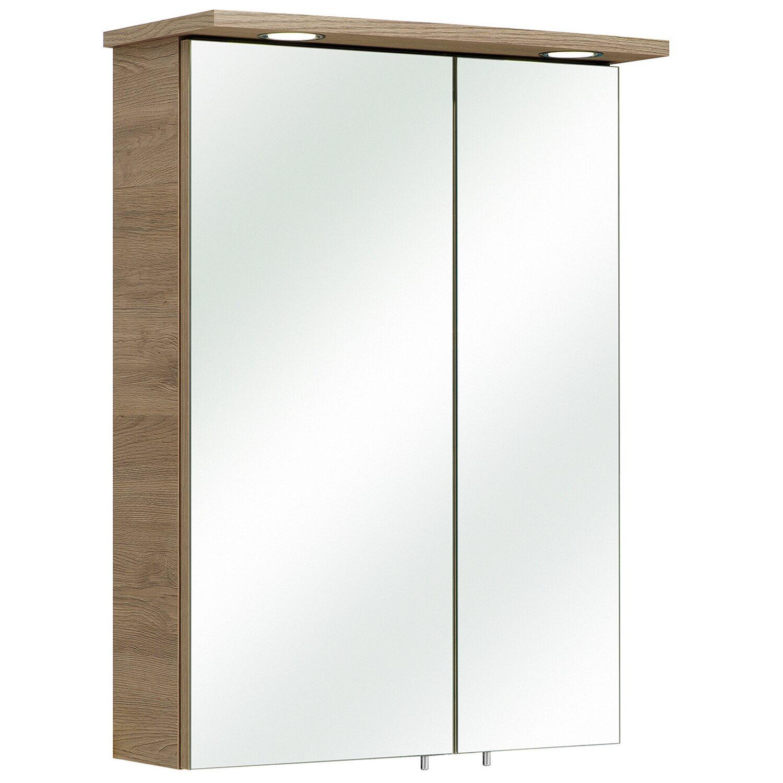 pelipal spiegelschrank eek a bis a 50 cm offenbach sanremo eiche kaufen bei obi. Black Bedroom Furniture Sets. Home Design Ideas