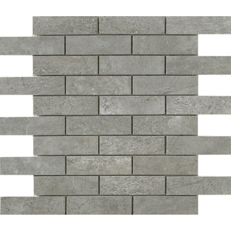 Sonstige Boden-Mosaik Dolomiti Grigio 30 cm x 30 cm