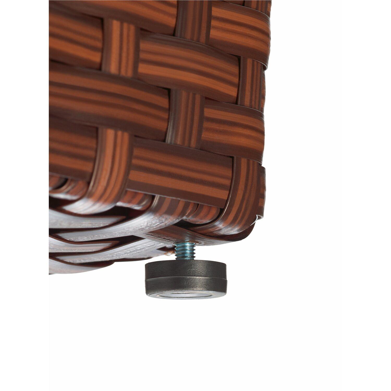 kunststoff bertopf 40 cm x 28 cm x 28 cm braun kaufen bei obi. Black Bedroom Furniture Sets. Home Design Ideas