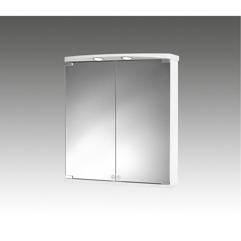 jokey spiegelschrank ampado led 60 cm x 66 cm x 21 cm wei eek a kaufen bei obi. Black Bedroom Furniture Sets. Home Design Ideas