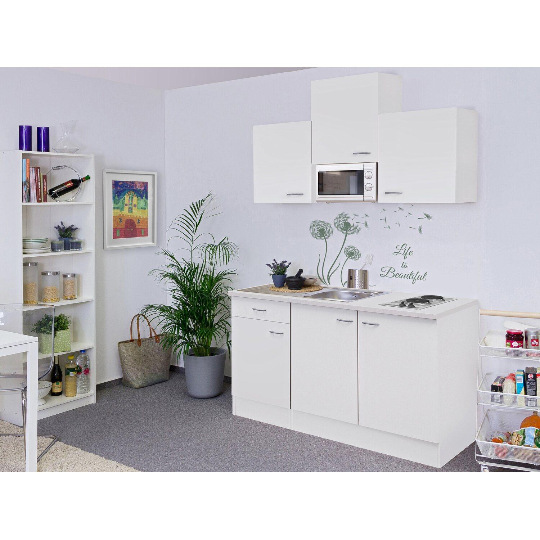 Flex-Well Classic Singleküche Wito 150 cm breit Weiß kaufen bei OBI