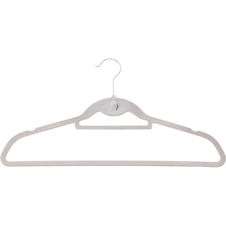 Kleiderbügel Beflockt obi kleiderbügel beflockt mit steg 10 stück kaufen bei obi