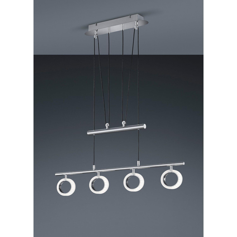 trio led pendelleuchte jojo 4 flammig eek a kaufen bei obi. Black Bedroom Furniture Sets. Home Design Ideas