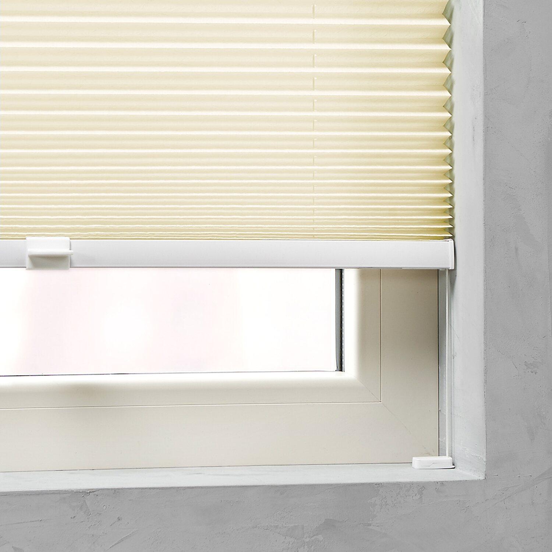 plissee 110 breit cheap plissee faltrollo inkl klemmtrger weiss x cm jalousie with plissee 110. Black Bedroom Furniture Sets. Home Design Ideas