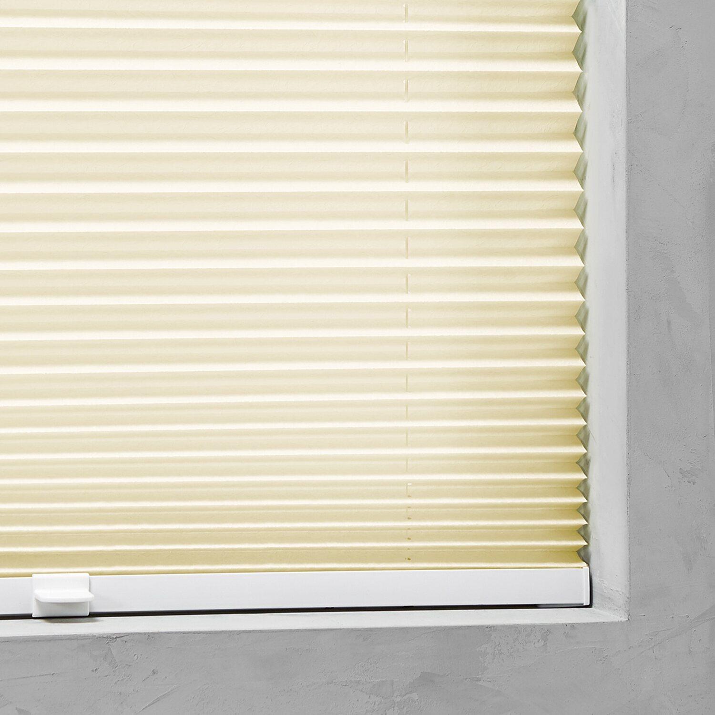 cocoon plissee verspannt 20 mm gelb 60 cm x 130 cm kaufen bei obi. Black Bedroom Furniture Sets. Home Design Ideas