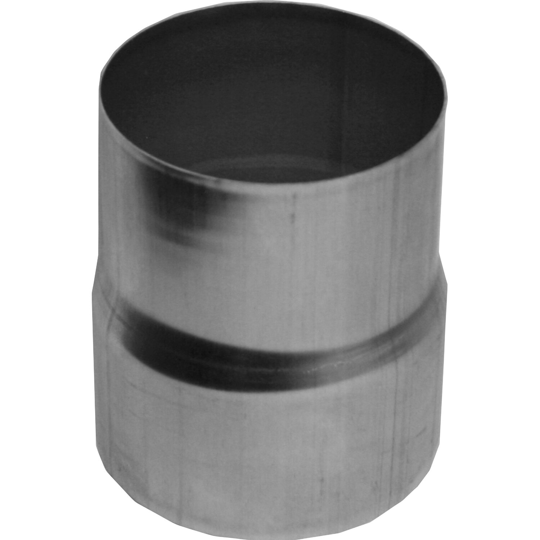 Regenrinnen & Zubehör Aluminium Steckmuffe Fallrohrverbinder Für Rohre Dn 60 Baustoffe & Holz
