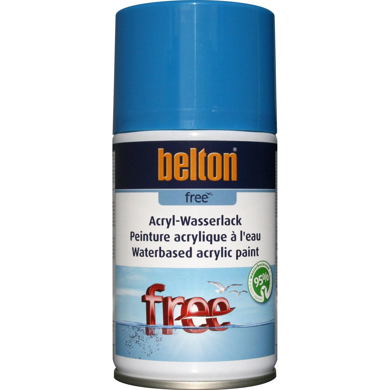 belton Belton Free Acryl-Wasserlack Himmelblau hochglänzend 250 ml