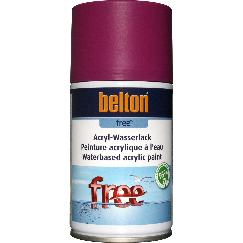 belton Belton Free Acryl-Wasserlack Verkehrspurpur matt 250 ml