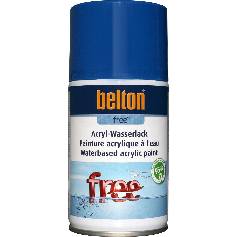 belton Belton Free Acryl-Wasserlack Enzianblau hochglänzend 250 ml