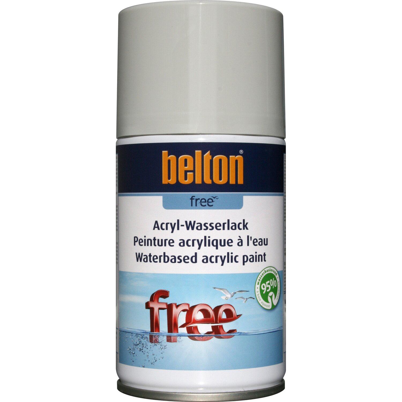 belton Belton Free Acryl-Wasserlack Lichtgrau hochglänzend 250 ml
