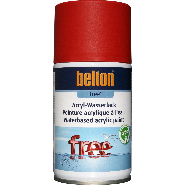 belton Belton Free Acryl-Wasserlack Feuerrot matt 250 ml
