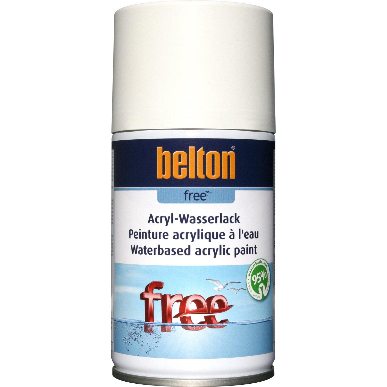 belton Belton Free Acryl-Wasserlack Reinweiß seidenglänzend 250 ml