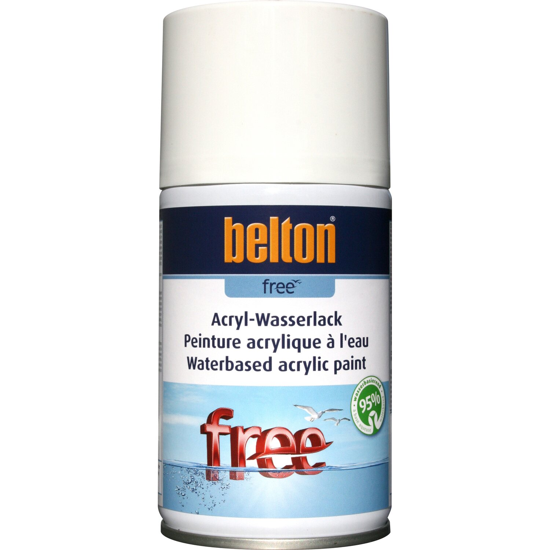 belton Belton Free Acryl-Wasserlack Reinweiß matt 250 ml