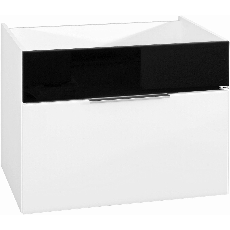 fackelmann waschbeckenunterschrank 79 5 cm kara wei anthrazit 1 schublade kaufen bei obi. Black Bedroom Furniture Sets. Home Design Ideas