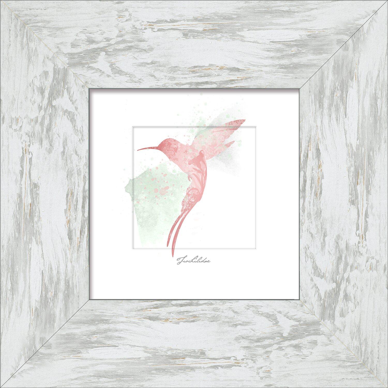 Bild mit Rahmen Butterfly Spring III 34 cm x 34 cm kaufen bei OBI