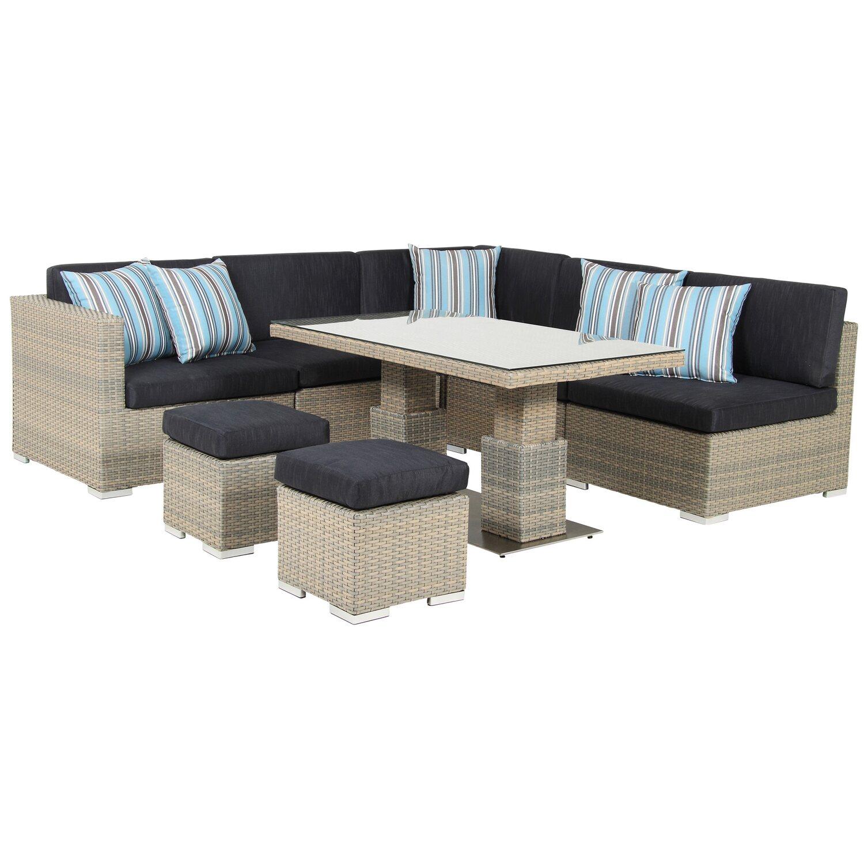 acamp lounge set sardinia 8 teilig kaufen bei obi. Black Bedroom Furniture Sets. Home Design Ideas