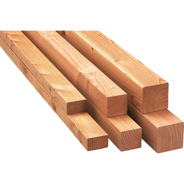 Kantholz Lärche 4-seitig gehobelt 90 mm x 90 mm x 2.000 mm