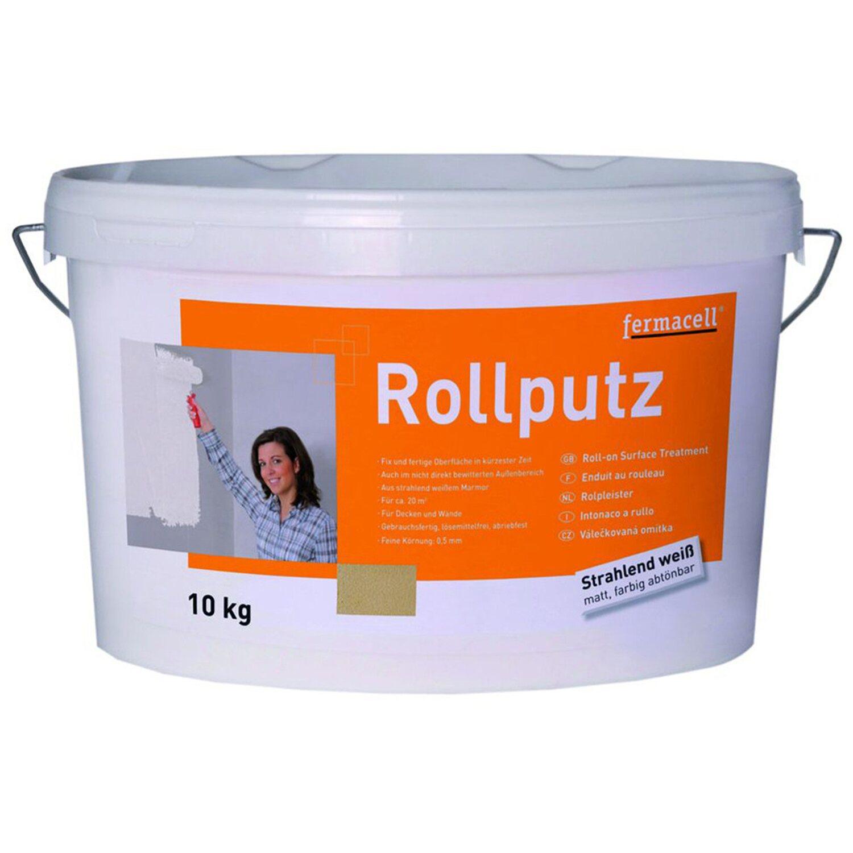 Fermacell  Rollputz Weiß 0,5 mm Körnung 10 kg