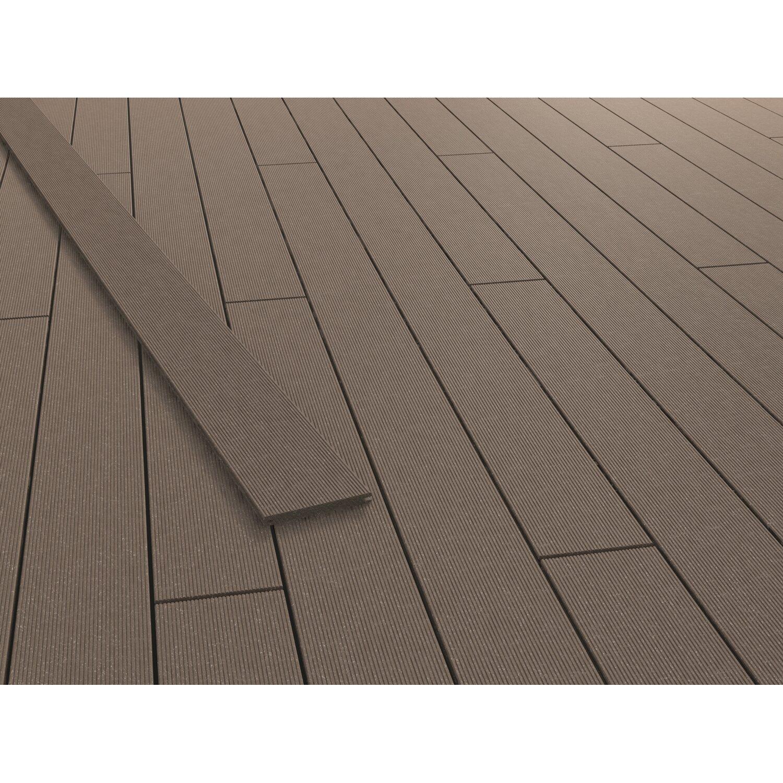 Rettenmeier GCC Terrassendiele Living Deck Terra 300 cm x 16,3 cm x 1,6 cm