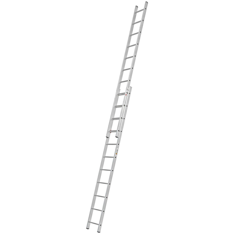 Alpe  Schiebe-Leiter 2 x 11 Sprossen Arbeitshöhe 5,84 m