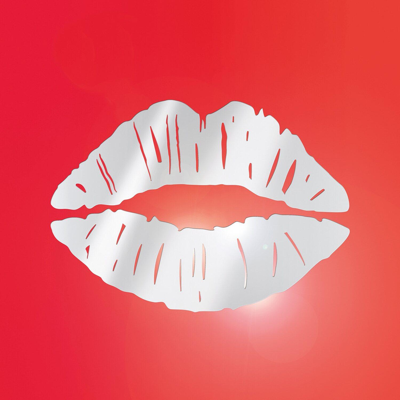 Eurographics  Spiegelsticker Kiss Mouth