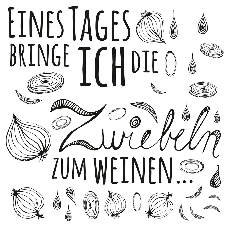 Eurographics  Deco Sticker Onion Slogan