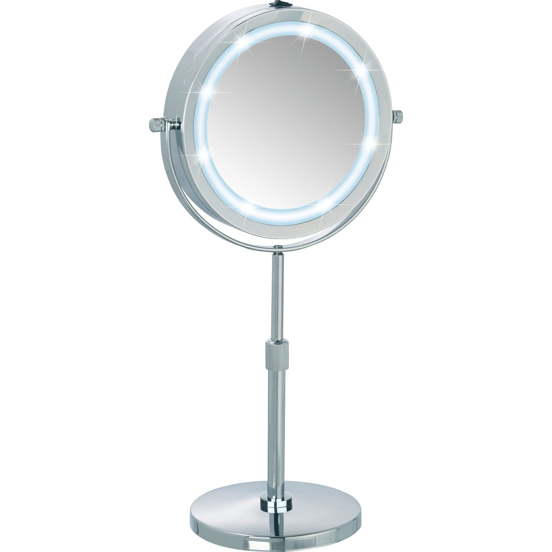 Wenko LED Kosmetik-Standspiegel Lumi | Bad > Bad-Accessoires > Kosmetikspiegel | Wenko