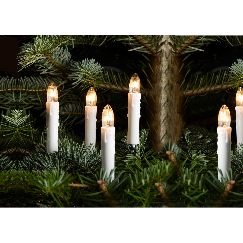 Lichterkette Kerzen 20 Warmweiße Lichter Innen Kaufen Bei Obi