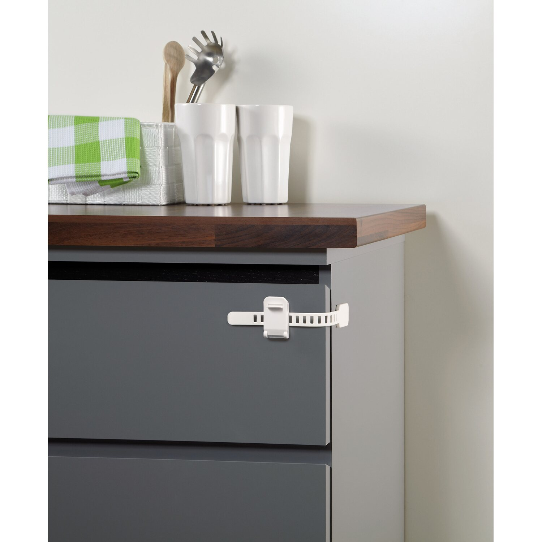 Reer Sicherung für Schränke und Schubladen Weiß kaufen bei OBI
