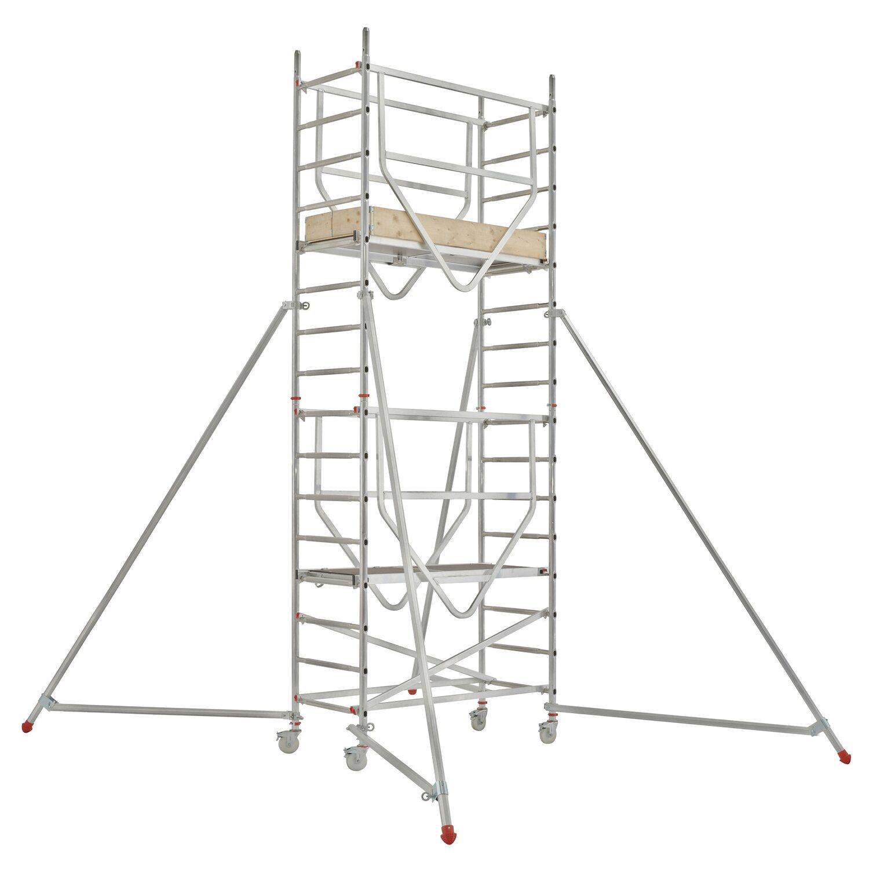 Hymer  Fahrgerüst Advanced Safe-T 7090 Arbeitshöhe: Ca. 5,14 m