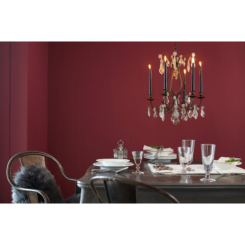alpina feine farben no 21 leidenschaftliches tiefrot. Black Bedroom Furniture Sets. Home Design Ideas