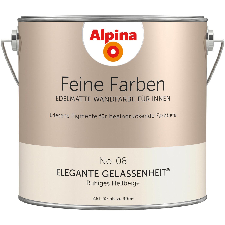 24 Wandfarbe Alpina Feine Farben