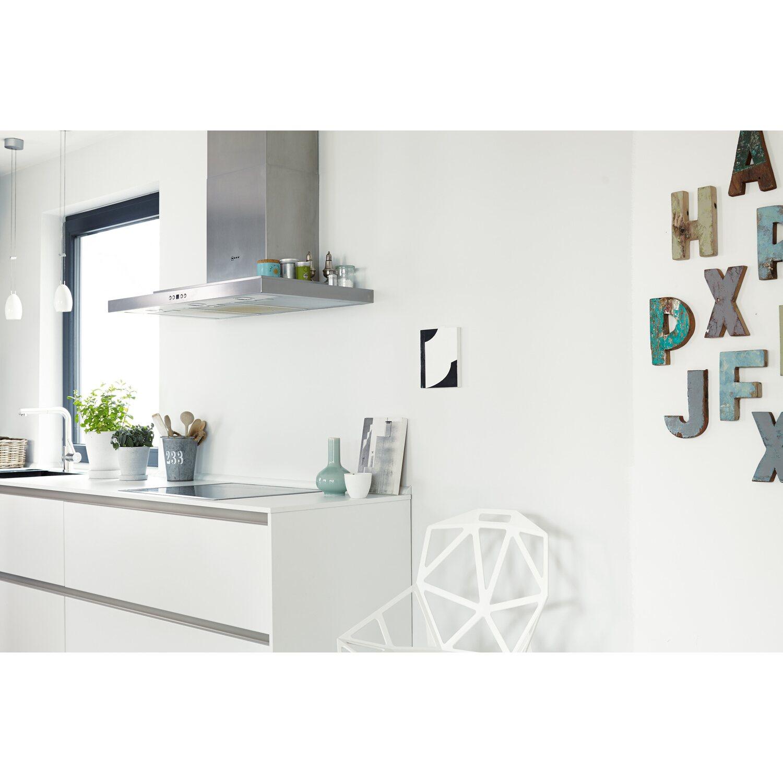 Azurblau Wandfarbe: Alpina Feine Farben No. 4 Kühles Blassgrau Edelmatt 2,5 L