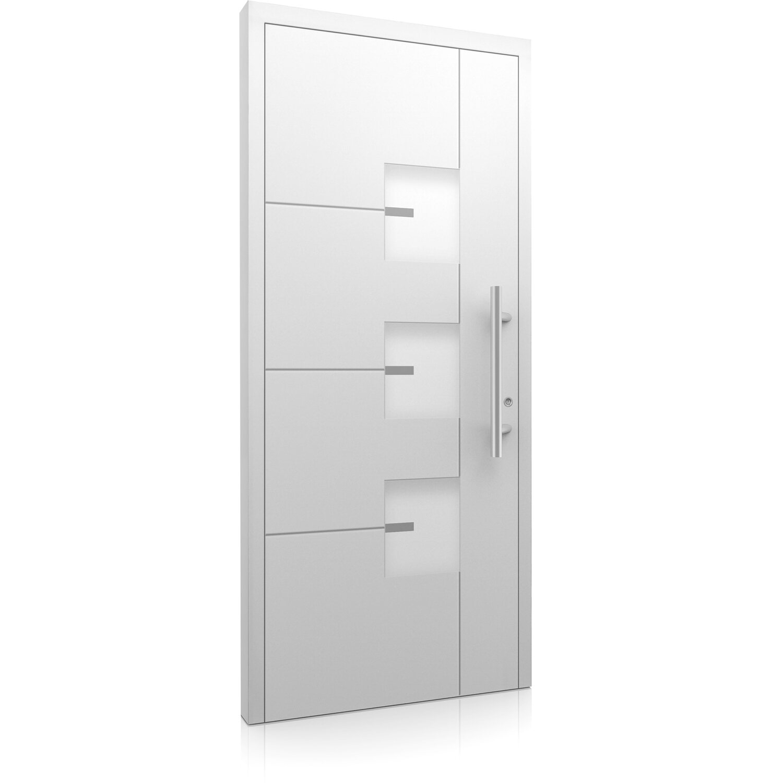 aluminium haust r moderno m330 b 110 x 210 cm wei anschlag rechts kaufen bei obi. Black Bedroom Furniture Sets. Home Design Ideas